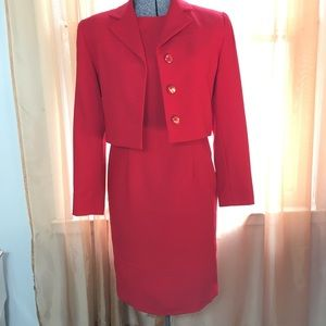 MAGGY LONDON DRESS AND JACKET. SZ/6